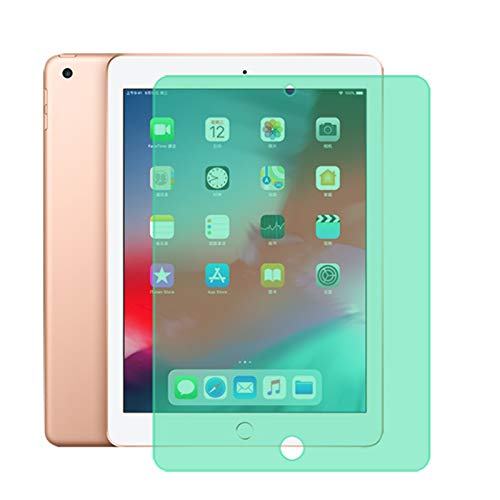 ALXDR (2Pcs) Anti-Blue Light 9H Tempered Glass Screen Protector for Ipad Air 1/2/3/4, Easy to Install/HD Clarity/Scratch Resistance,for ipad air 3 10.5inch