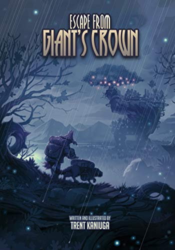Escape From Giant's Crown (Illustrated Edition) (Twilight Monk) (English Edition)