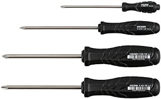 Hozan JIS-4 JIS Screwdriver Set (New 3rd. Gen) (Japan Import)