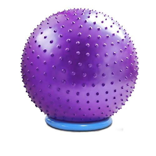 Queen Boutiques Garder la Forme Ballon de Yoga pour Le Massage des Tissus Profonds EVA Ballon d'exercice Anti-éclatement de Pilates Ballon d'exercice Robuste de 65 cm - 85 cm Fitness