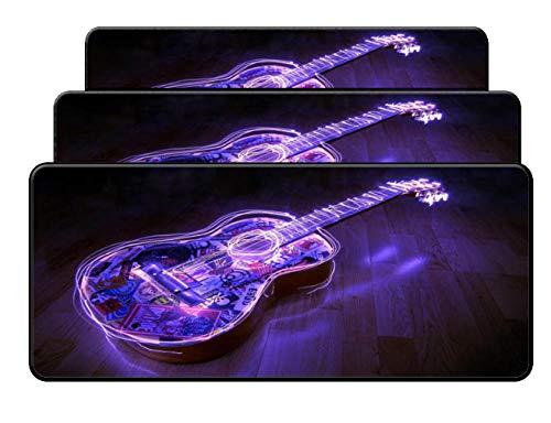 Mauspad Große Sperre Kanten Lila Musik Violine Kundenspezifische Unterstützung Mauspads Computer Laptop Anime Mauspad Größe Für 900 * 400Mm