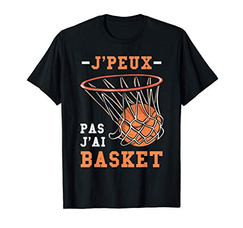 Drôle Cadeau Basketball Graphique L'Amour Du Basket-Ball T-Shirt