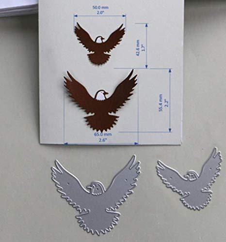 RKZM Adelaar snijsjabloon DIY mes randmachine papier DIY handmatig contouren doordrukken voor kaarten