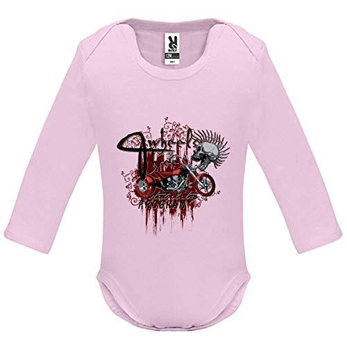 Body bébé - Manche Longue - Three Wheels - Bébé Fille - Rose - 18MOIS