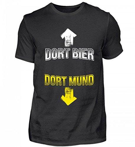 Hochwertiges Herren Shirt - Bier/Biertrinker/Dort Bier Dort Mund Geschenk