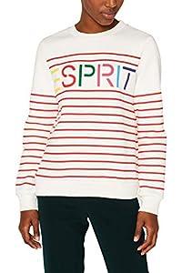 ESPRIT Damen 099Ee1J024 Sweatshirt, Rot (RED 630), Medium (Herstellergröße:M)