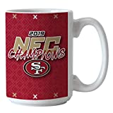 Boelter San Francisco 49ers 2019 NFC Champions 15oz. Coffee Mug