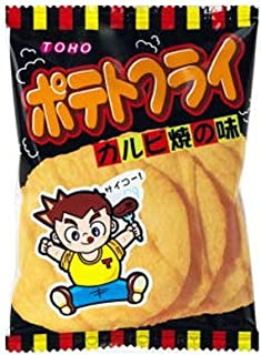 東豊製菓 ポテトフライ(カルビ焼) 11g 8コ入り