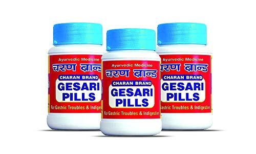 Charan Brand Gesari Pills – 200 Pills (Pack Of 3)