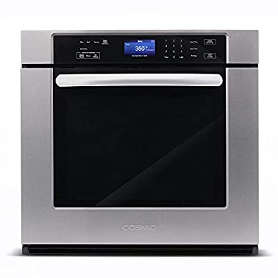 COS-30ESWC 30 in. 5 cu. ft. Single Electric Wall Oven with True European Convection and Self Cleaning