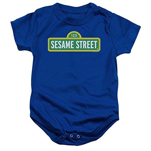 Sesame Street - Barboteuse - Bébé (garçon) - bleu - 12 mois