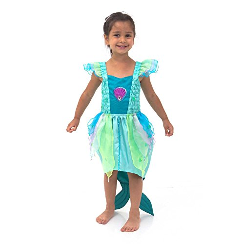 Déguisement de luxe - Robe de Sirène pour enfants (Taille 3-4 ans) Lucy Locket