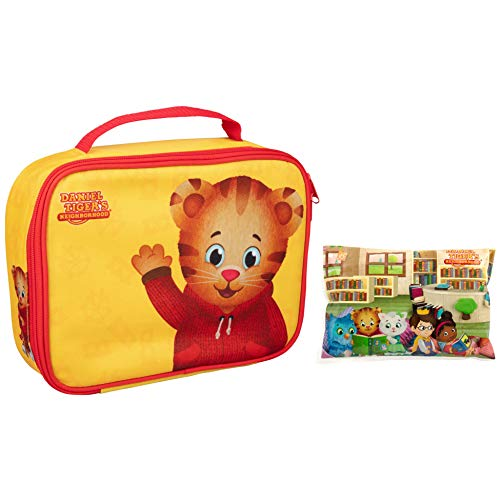 Daniel Tiger's Neighborhood - Insulated Durable Lunch Bag Sleeve Kit with Ice Pack (Daniel Tiger: Yellow)