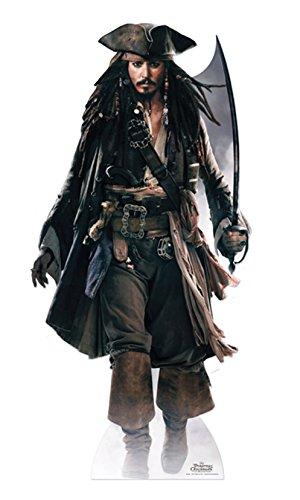 Disney Star Cutouts Pappaufsteller von Captain Jack Sparrow Schwert