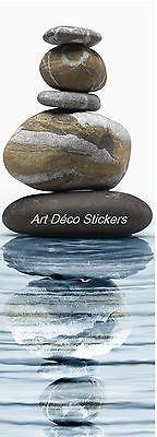 Stickersnews Tür-Aufkleber/Sticker Dekoration Kieselsteine 73 x 204 cm, Ref. 584