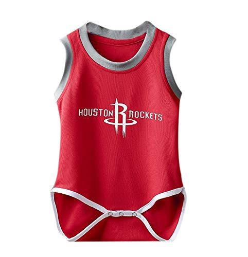 Huateng Uniforme de Baloncesto Monos de bebé Ropa Chaleco de Baloncesto Transpirable