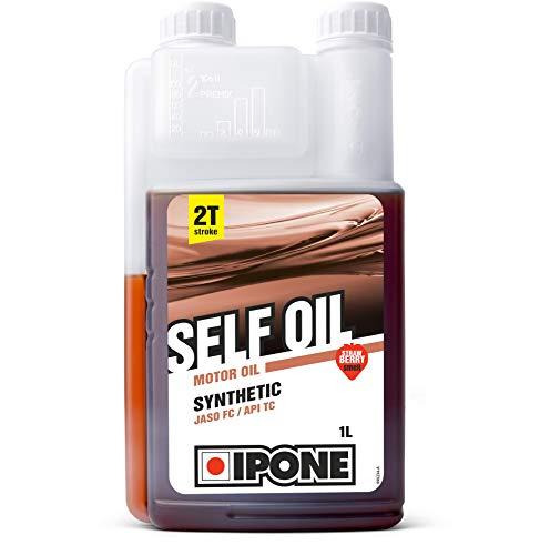 Ipone 800352 Huile Moteur Self Oil Jardinage-Bidon-doseur 1 Litre – Lubrifiant Semi...