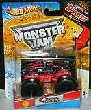 Monster Jam Metal Mulisha MONSTER TRUCK topps scale 1/64 Topps trading card inside