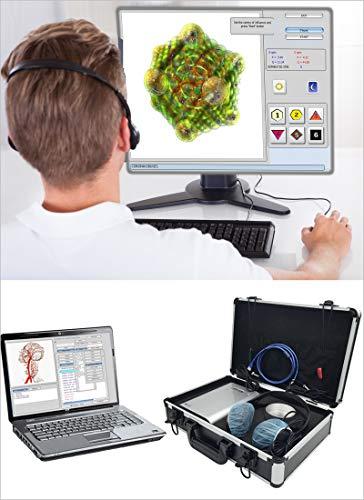 Der Bioresonanzvirus-Test liefert Ergebnisse in DREI Minuten: Biofeedback-Therapie Geräte Medicomat39 Vector NLS Bioresonanz Computervorrichtung