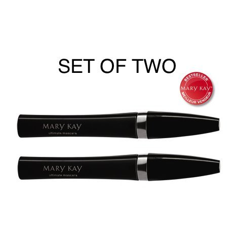 Mary Kay Ultimate Mascara, Black 0.28 OZ SET OF TWO