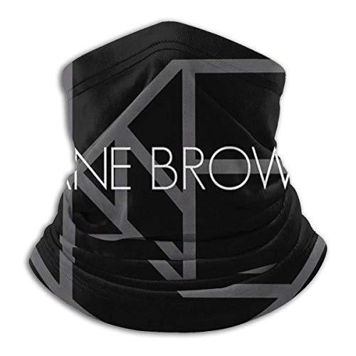 NA Kane-Brown Herren und Damen Bequemer, atmungsaktiver Schal mit Kragen und Halshals Warmer Schal