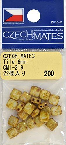 TOHO チェコメイト タイル 約6mm CMI-219 22ヶ入り