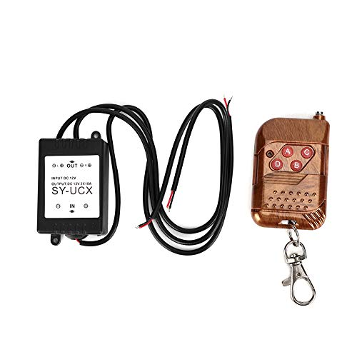 Strobe Controller, 12 V 1,5 W universelles drahtloses Strobe-Steuermodul LED DRL Flash Controller System für Automotorräder