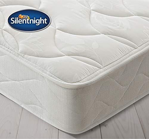 Silentnight Essentials 600 Pocket Rolled Mattress, Back Support and Pressure Relief, Hypoallergenic, Medium, Double