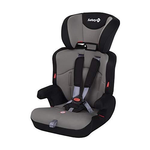 Safety 1st Ever Safe Seggiolino Auto 9-36 Kg, Gruppo 1/2/3 per Bambini dai 9 Mesi fino ai 12 Anni, Facile da Installare, Colore Grigio (Hot Grey)