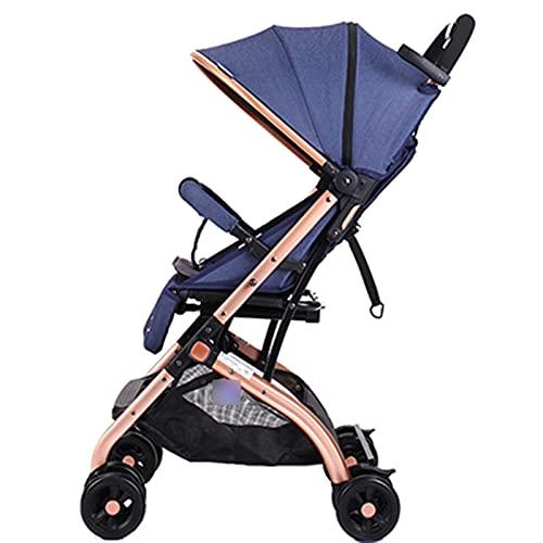 Super Light Travel Baby Car One Key Plegable Cochecito de bebé Carrito...