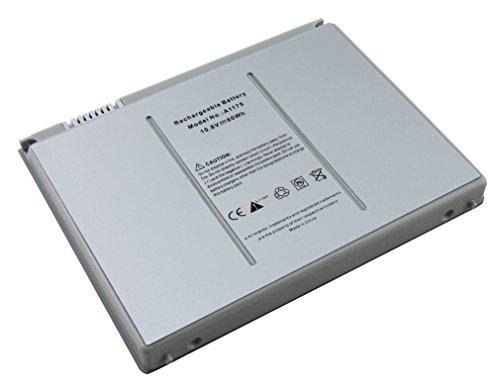 5600mAh batterie de remplacement ordinateur portable compatible avec Apple MacBook Pro 15\