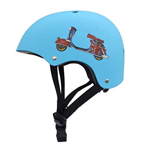 LHWQAN Casco de Bicicletas para niños, Seguridad Deportiva de Seguridad, Materiales, certificación...