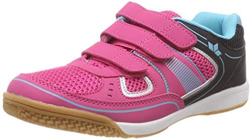 Lico Recent Kids V, Chaussures Multisport Indoor Femme, Rose Pink/Schwarz/Tuerkis, 41 EU