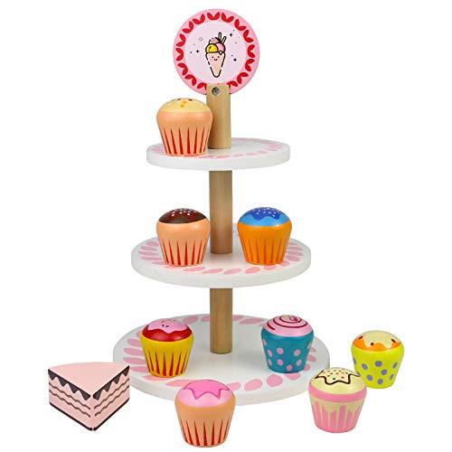 Cucina Giocattolo per Bambini Torta di Compleanno Finta Accessori Cucina