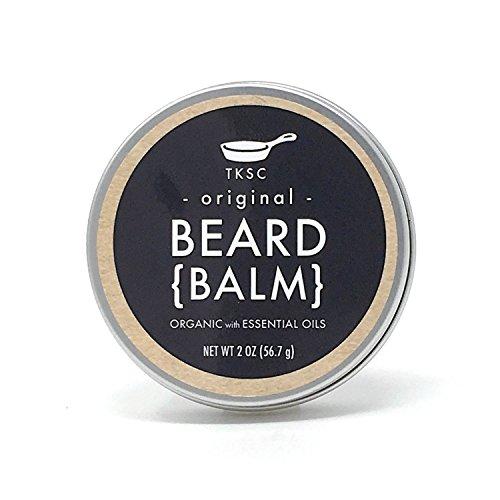 Organic Beard Balm - Original Scent (2 oz) - Handmade with All Natural Ingredients