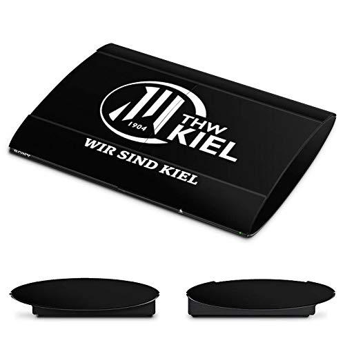 DeinDesign Skin kompatibel mit Sony Playstation 3 Superslim CECH-4000 Folie Sticker Handball THW Kiel Fanartikel