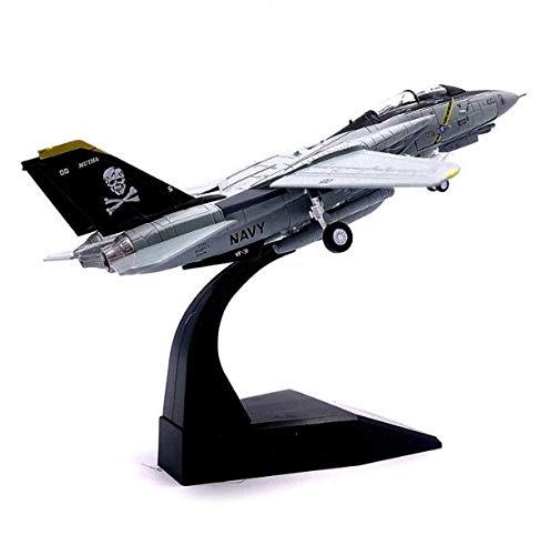 NKJWHB Juguete Modelo Militar F14 Tomcat F-14A / B Juguete Modelo de avión de Metal Fundido a presión, colección Regalo 1/100