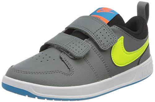 Nike Pico 5 PSV, Gymnastics Shoe Unisex-Child, Gris