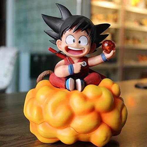 Dragon Ball Z Son Goku Juguetes Lindos PVC Figura De Acción Niño 18 Cm Goku Sentado En Las Nubes Modelo Coleccionable Anime DBZ Figuras Juguete