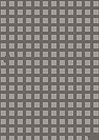 igsticker ポスター ウォールステッカー シール式ステッカー 飾り 1030×1456㎜ B0 写真 フォト 壁 インテリア おしゃれ 剥がせる wall sticker poster 003938 チェック・ボーダー 格子柄 模様 グレー