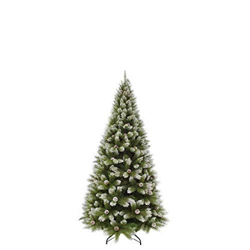 Triumph Tree Pittsburgh Tips 424 - Albero di Natale in Pino, 155 x 84 cm, Colore: Verde