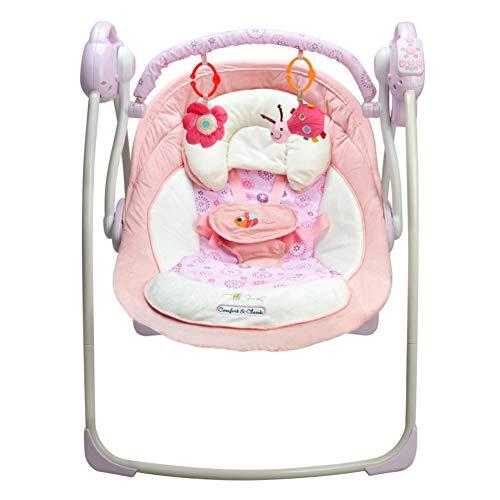 C-Qing Elektrischer Babyschaukelstuhl Babyschaukelstuhl Kleinkindwippe Vibrierender Babywippe