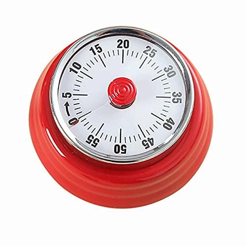 AJMINI Temporizador Visual, Reloj de Cuenta Regresiva mecánica, Temporizador para niños, Herramienta de gestión del Tiempo para la enseñanza, Cocina, Juego, Estudio