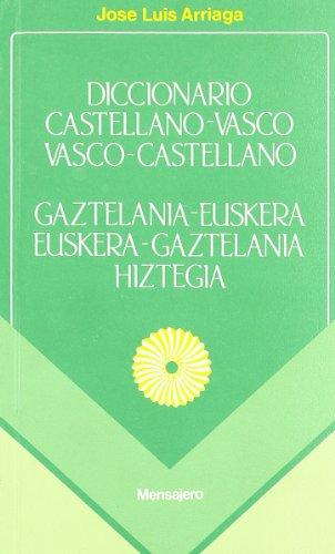 ARRIAGA-DICC.VASCO/CASTELL.C/V. (Beste Batz)