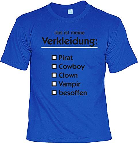Grappig carnaval shirt T-shirt Dat is mijn verkleding carnavalkostuum party carnaval pak