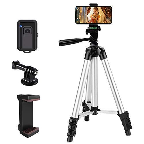 zetong Phone Tripod 42' Aluminum Lightweight Portable Camera Tripod for...