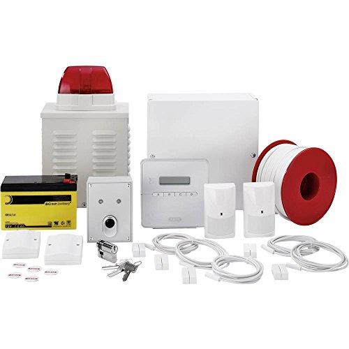 ABUS Terxon SX Komplettpaket AZ4301 inkl. Bedienteil Außensirene 2 Bewegungsmelder 5 Öffnungsmeldern 50m Alarmkabel