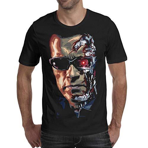 Men's Terminator Arnie Face T-shirt, S to 2XL