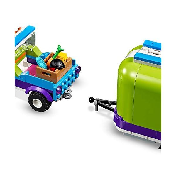 LEGO Friends - Remolque del Caballo de Mia Nuevo juguete de construcción de Coche con Remolque, incluye dos mini muñecas (41371)