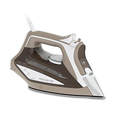 Rowenta DW5225 Focus Excel Ferro da Stiro a Vapore, Potenza 2700 W, Capacità serbatoio: 0,3 litri, Beige/Bianco